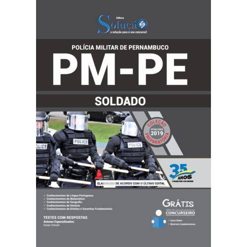 Apostila Pm Pe 2019 Soldado da Polícia Militar de Pernambuco