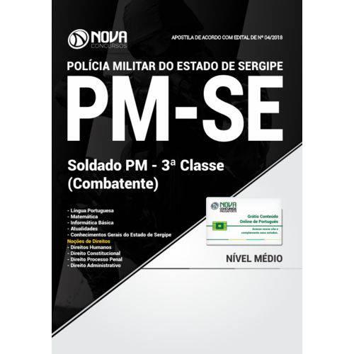 Apostila PM-SE 2018 - Soldado PM 3 Classe