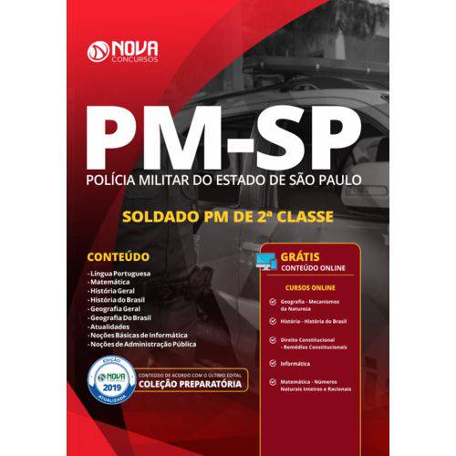 Apostila Pm Sp 2019 - Soldado Pm 2ª Classe