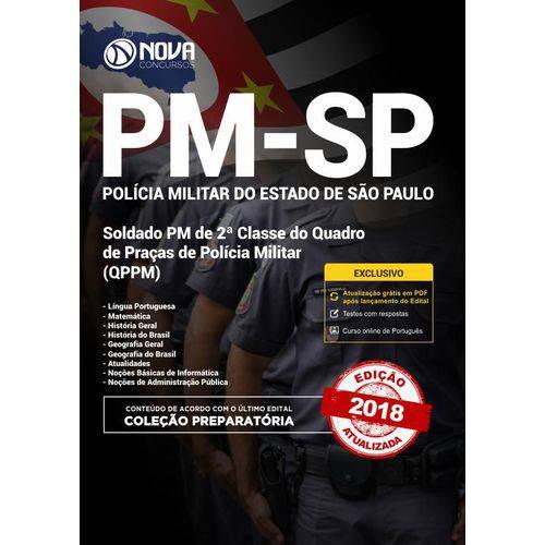 Apostila Preparatória PM-SP 2018- Soldado de 2 Classe