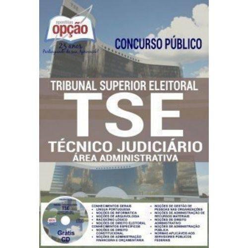 Apostila Preparatória Tse - Técnico Judiciário - Área Administrativa