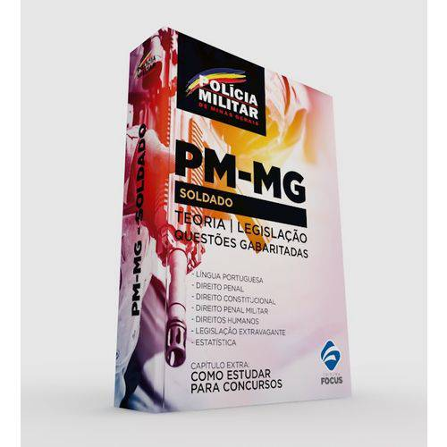 Apostila Soldado da Polícia Militar - Pm-mg