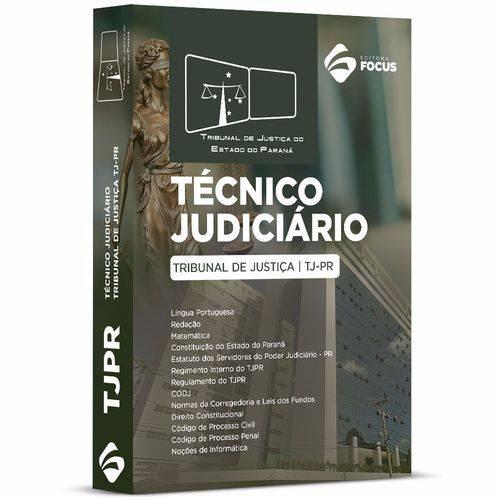 Apostila Técnico Judiciário - Tj Pr