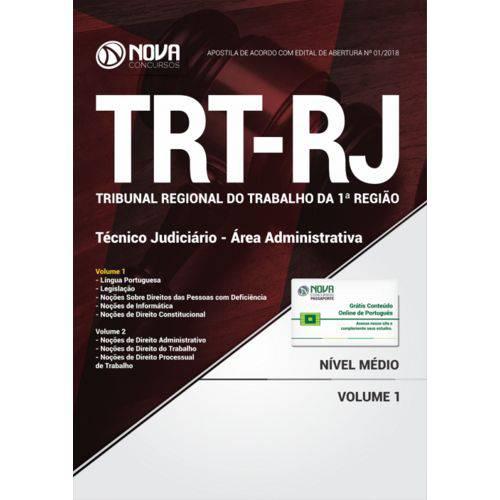 Apostila Trt-rj (1ª Região) - Técnico Judiciário