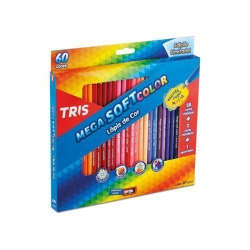 Aquarela em Pastilhas C/ 12 Cores Mega Acqua Color Tris Ref 686998