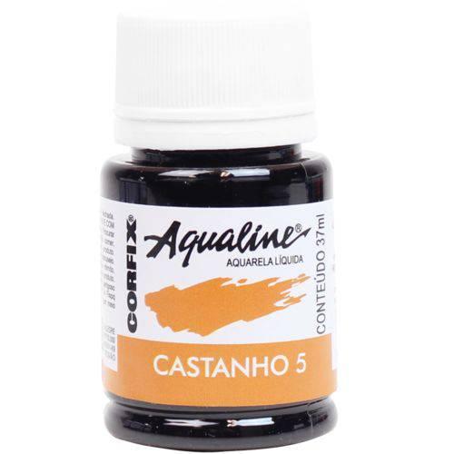 Aquarela Liquida Corfix Aqualine 037 Ml Castanho 200376-5