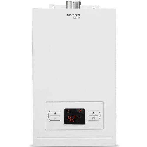 Aquecedor a Gás de Passagem 15 Litros Digital Glp Branco Ko 15d