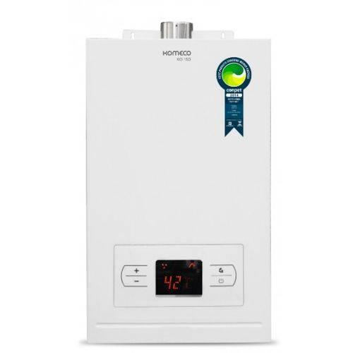 Aquecedor a Gas Komeco Automatico Digital Ko 15d Gn 15l Branco