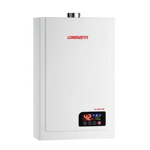 Aquecedor a Gas Lz 2300de Glp 23,5lts/min 7412122-lorenzetti