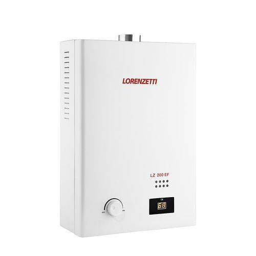 Aquecedor a Gas Lz 200ef Gn 20,0lts/min 7412115 - Lorenzetti