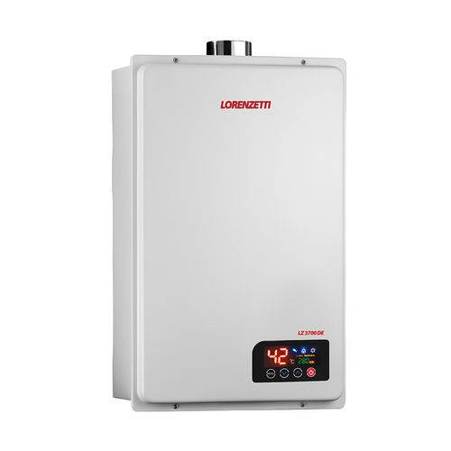 Aquecedor a Gas Lz 3700de Gn 37,0lts/min 7412125-lorenzetti