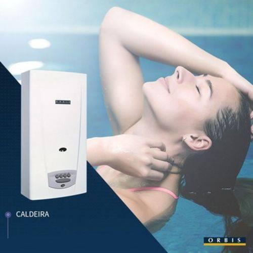 Aquecedor a Gás para Piscina Orbis Caldeira Termocentral GLP 230 - 30.000Kcal/h