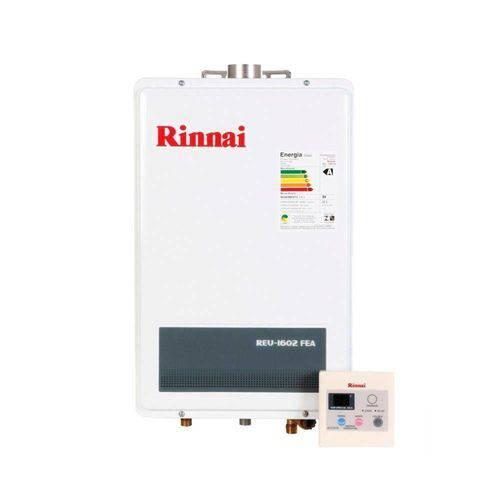 Aquecedor a Gás REU 1602 FEA 22,5 Litros GLP Bivolt Rinnai