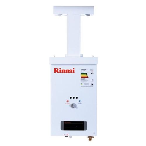 Aquecedor a Gás Reu 73 Br de 7,5 Litros Rinnai GLP com Pressurizador Embutido Aquecedor Gas Rinnai 7 5 L Reu 73 Br GLP com Pressurizador Embutido