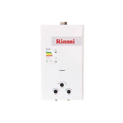 Aquecedor a Gás REU M15 FEH BN7 14,5 Litros GN Rinnai
