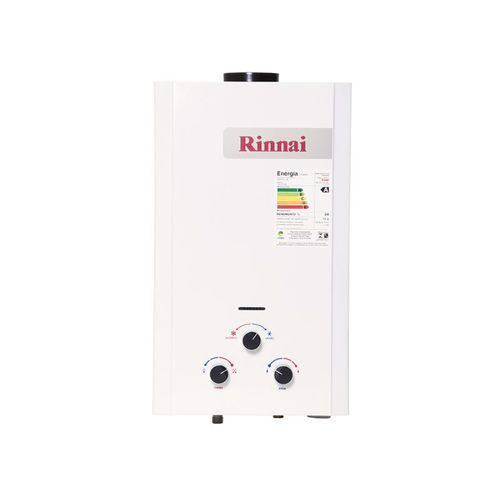 Aquecedor a Gás Rinnai M11 - Vazão 11,5 Litros - Gás Glp