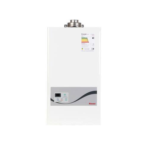 Aquecedor a Gás Rinnai REU-1602-FFA - Vazão de 20,5 Litros - Fluxo Balanceado - Gás Natural