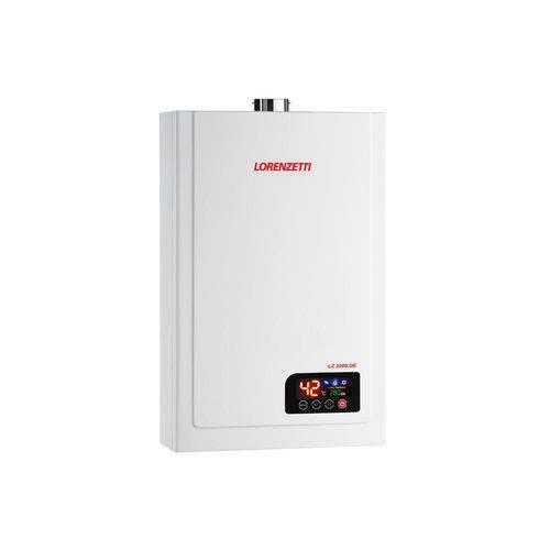 Aquecedor de Água a Gás Digital Bivolt Lz 2300de Gn Branco