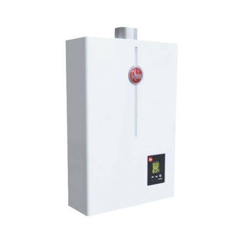 Aquecedor de Água à Gás Digital 22 Litros Exaustão Forçada Gn