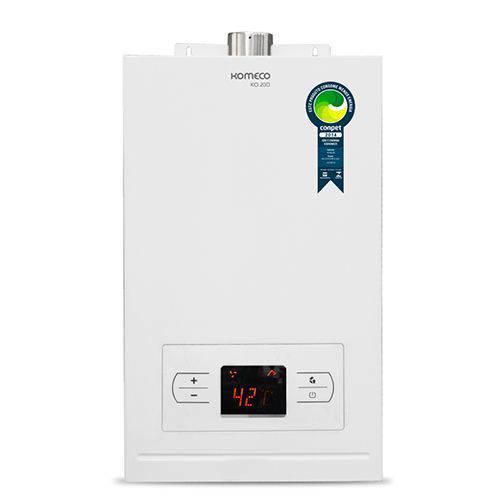 Aquecedor de Água a Gás Ko 20d Gn Branco Komeco