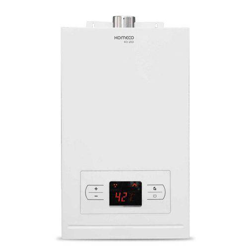 Aquecedor de Água a Gás Natural Digital 20d Komeco - Branco