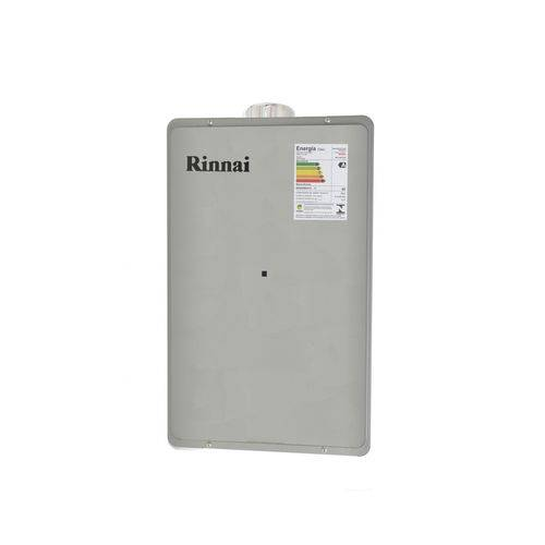 Aquecedor de Água a Gás Rinnai 35 Litros Reu-2802 Fec Prata