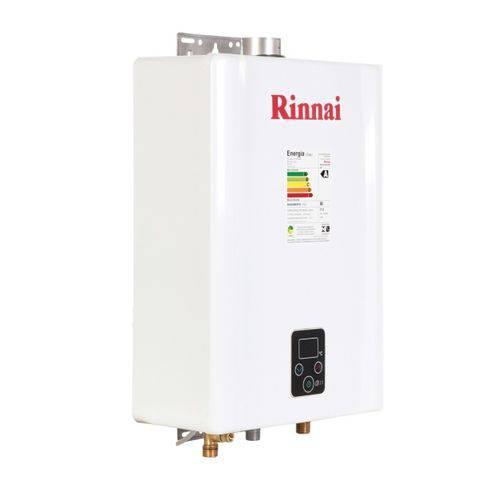 Aquecedor de Água a Gás Rinnai e 21 Gn - 21 Litros/min - Branco - (Gás Natural)