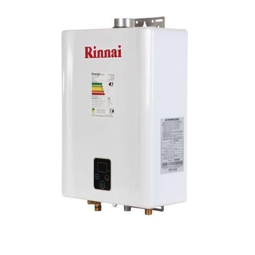 Aquecedor de Água a Gás Rinnai e 17 Gn - 17 Litros/min - Branco - (Gás Natural)