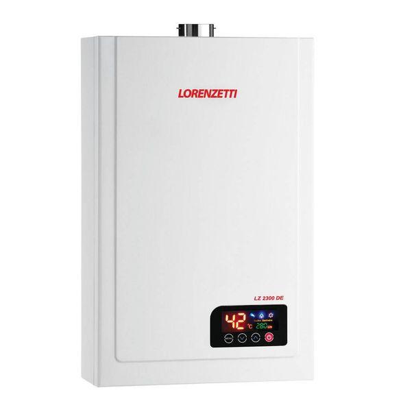 Aquecedor Gas Lorenzetti Digital 23.0 Lt GN LZ 2300de GN