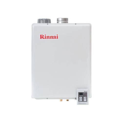 Aquecedor Rinnai Digital 43,5 Litros a Gás Branco Gn E48