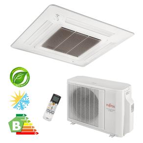 Ar Condicionado Cassete Split Inverter Fujitsu 17.000 BTU/h Quente/Frio 220V