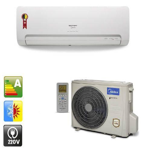 Ar Condicionado Hi Wall Inverter Split Springer Midea 9.000 Btu/h Quente e Frio - 220v