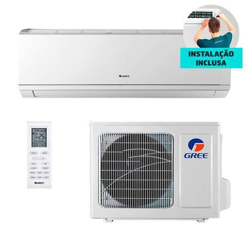 Ar Condicionado + Instalação Split Hw Inverter Gree Eco Garden 12.000 BTUs só Frio 220V