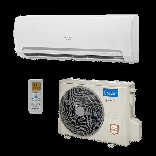 Ar Condicionado Split HW Inverter Springer Midea 9.000 BTUs Quente/Frio 220V