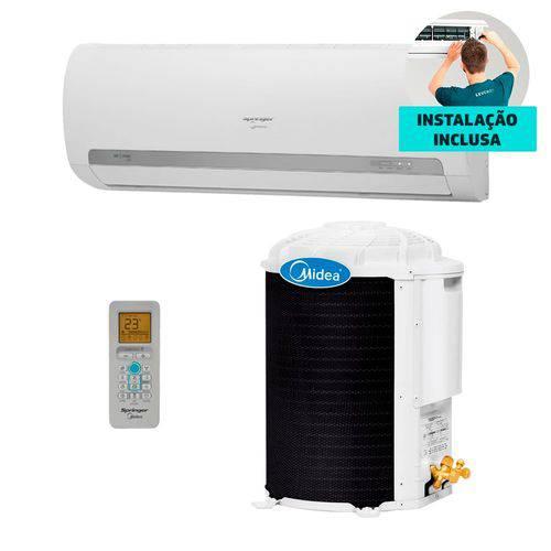 Ar Condicionado + Instalação Split Hw Springer Midea 12.000 BTUs só Frio 220V