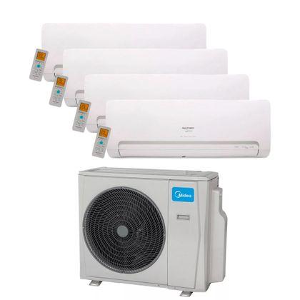 Ar Condicionado Multi Split Inverter Springer Midea 36.000 Btus (4x Evap. HW 12.000) Quente e Frio 220v
