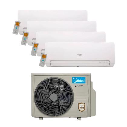 Ar Condicionado Multi Split Inverter Springer Midea 36.000 Btus (3x Evap. HW 9.000 + 1x Evap. HW 12.000) Quente e Frio 220v