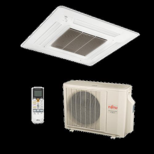 Ar Condicionado Split Cassete Inverter Fujitsu 17.000 BTUs Quente/Frio 220V Monofásico