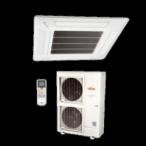 Ar Condicionado Split Cassete Inverter Fujitsu 45.000 BTUs Quente/Frio 220V Monofásico