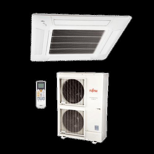 Ar Condicionado Split Cassete Inverter Fujitsu 48.000 BTUs Quente/Frio 380V Trifásico