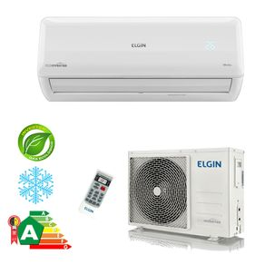 Ar Condicionado Split Hi-Wall Eco Inverter Elgin 9.000 BTU/h Frio 220V