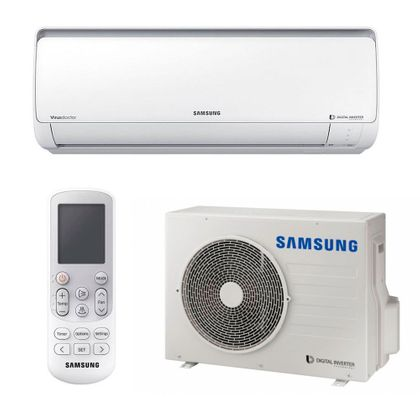 Ar Condicionado Split Hi Wall Inverter Samsung Digital 21.000 Btus Frio 220v