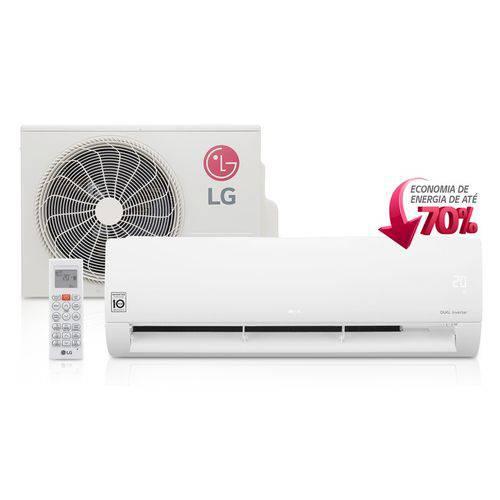 Ar Condicionado Split Hi Wall LG DUAL Inverter 22000 BTUs Quente Frio 220V - S4-W24KE3W1