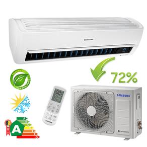 Ar Condicionado Split Hi-Wall Samsung Inverter Wind Free 12.000 BTU/h Quente/Frio 220v - AR12NSPXBWKNAZ