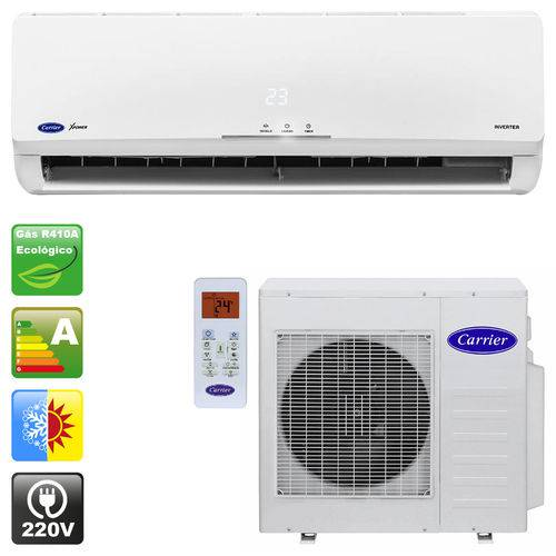 Ar Condicionado Split Inverter Carrier Novo X-Power 18000 BTUs Quente Frio