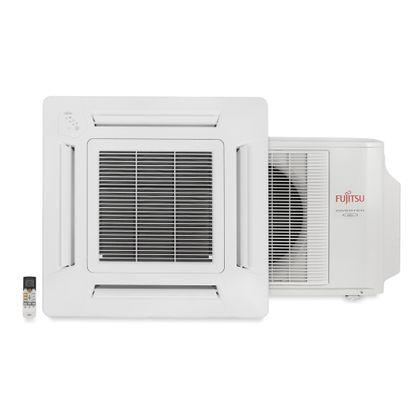 Ar Condicionado Split Inverter Cassete 17000 Btus Quente e Frio 220v Fujitsu AUBF18LAL PRINVK7418Q2FU0