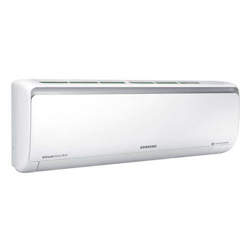 Ar Condicionado Split Inverter Samsung Digital 8polos Quente e Frio High Wall 12.000 Btus Ar12msspbgmnaz