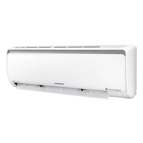 Ar Condicionado Split Inverter Samsung Digital 8polos Quente e Frio High Wall 9000 Btus Ar09msspbgmnaz