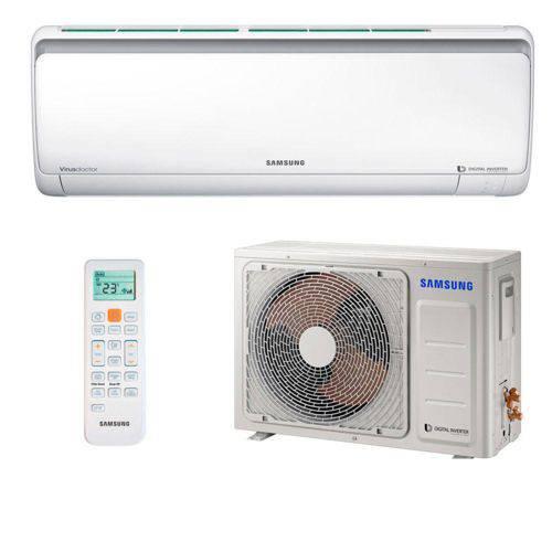 Ar Condicionado Split Inverter Samsung Digital Quente e Frio High Wall 24.000 Btus Ar24ksspasnnaz