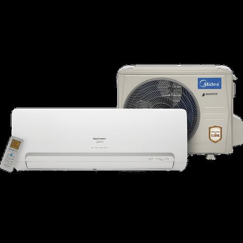 Ar-Condicionado Split Springer Midea, Inverter, 12.000 BTUs, Compatível com Kit Wi-FI – 38MBCB12M5 - 220V